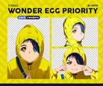 Wonder Egg Priority #1 - Renders Pack