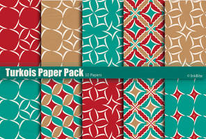 Turkois Paper Pack by naga-pree