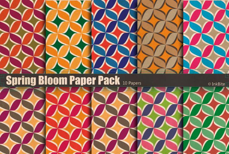 Spring Bloom Paper Pack
