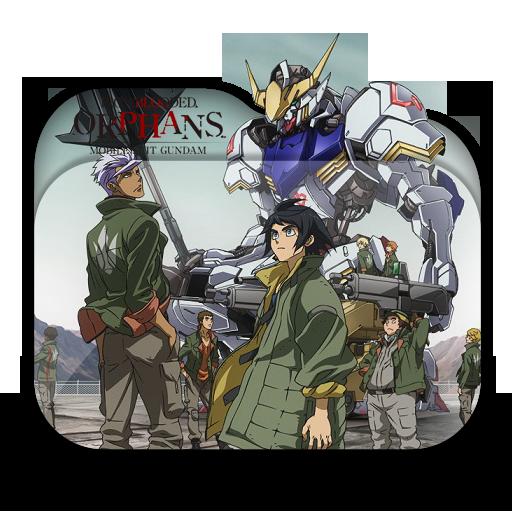 """Képtalálat a következőre: """"Mobile Suit Gundam: Tekketsu no Orphans ico"""""""
