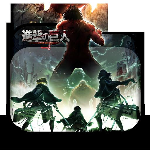 Shingeki No Kyojin Season 2 Folder Icon By Tatas18 On
