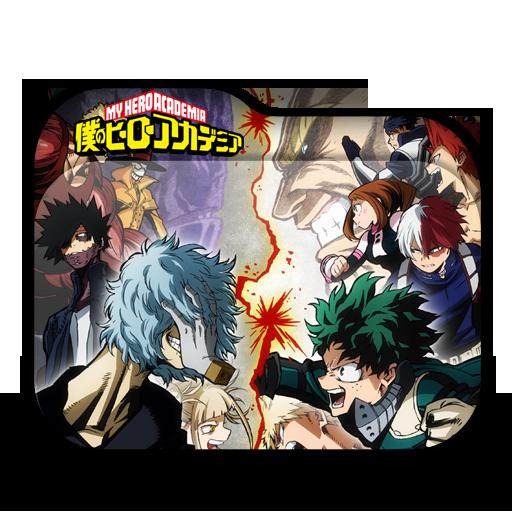 Boku No Hero Academia Season 3 Folder Icon Anime Wallpapers