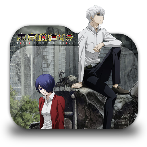 Tokyo Ghoul Re 2nd Season Folder Icon By Tatas18 On Deviantart