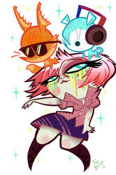 -Studio Killers Kickin'- by PurplePeepBits