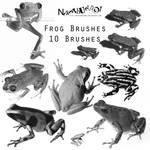 Frog Brushes