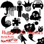 Hungry Little Monster Brushes