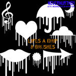 Life's a Drip Brushes