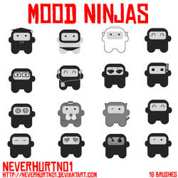 Mood Ninja Brushes