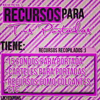 Recursos para tus portadas de Facebook by Lolyeditiones