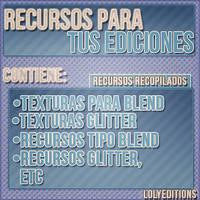 Pack de recursos para tus ediciones! by Lolyeditiones