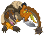 Sceyon, Cassowary and Roscalion