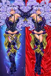 Camilla. Dakimakura commission. by Taiss14