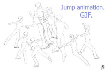 Jump (animation). Yuri, Yuri on ice anime fanart. by Taiss14