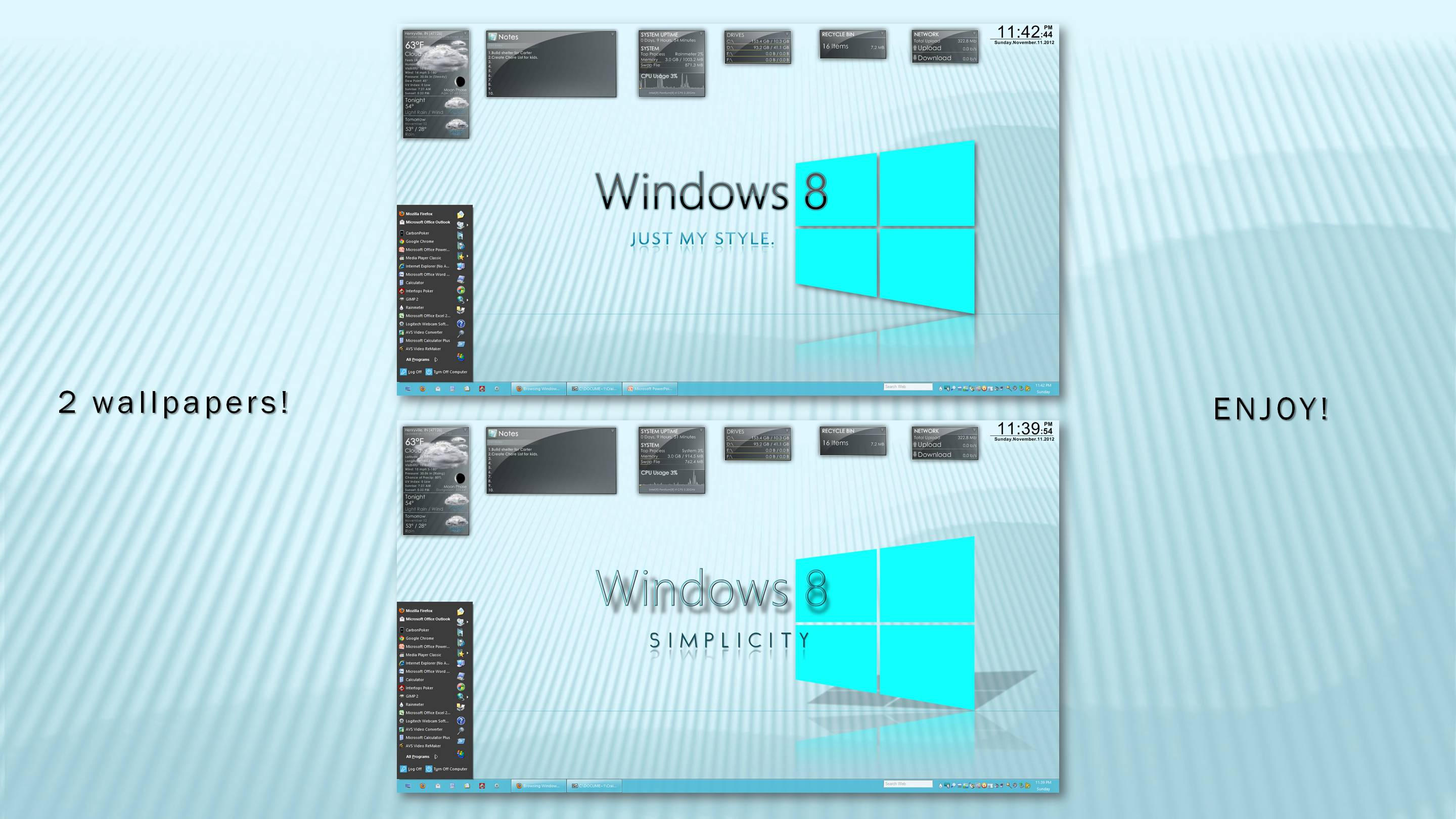 Windows 8 Simplicity by creativecraig