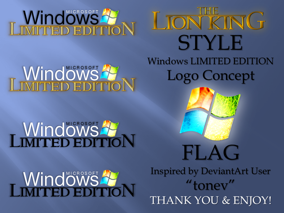 Win7 Limited Edition by creativecraig