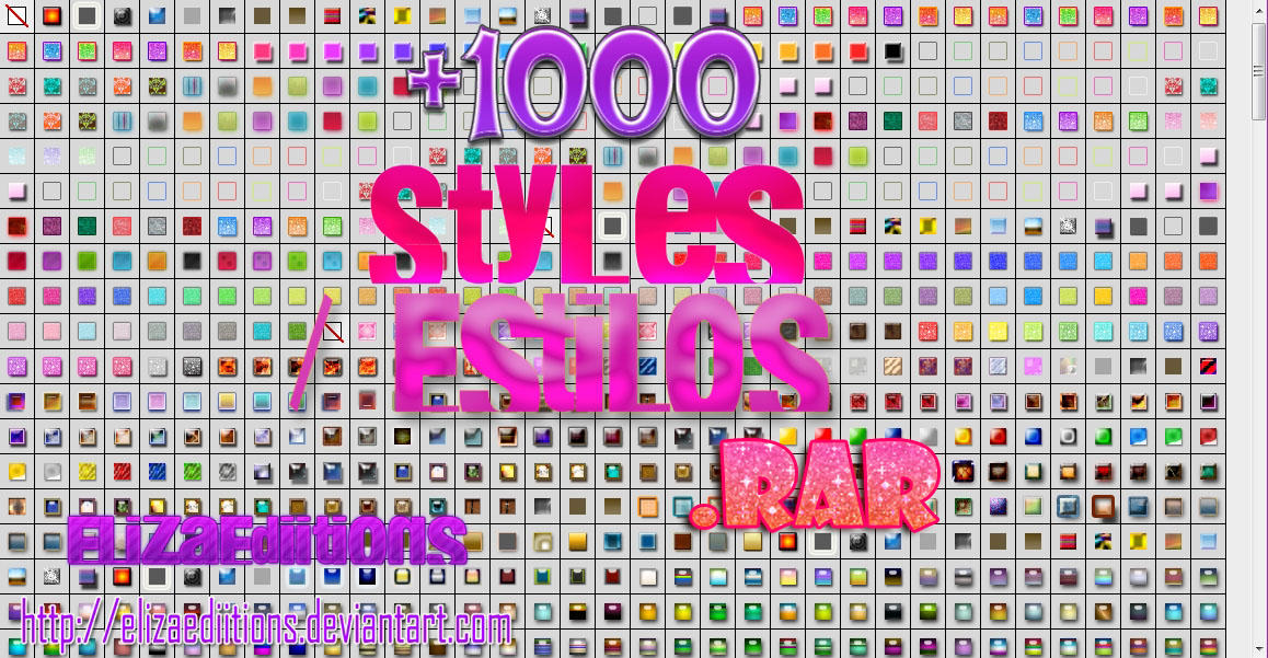 Pack de Styles .rar by ElizaEdiitions