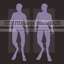 F2U/P2U Satyr/Faun base by YokaMycelium