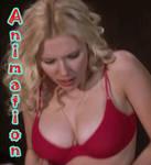 Scarlett Johannson in her Bra- Bouncing