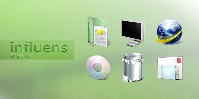 influens icons by mat-u