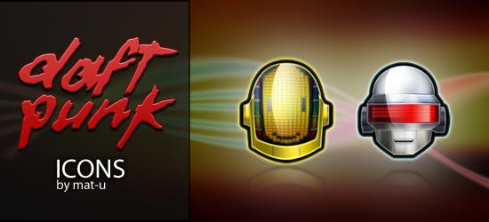 Daft Punk Icons by mat-u