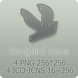 Songbird Icons by mat-u