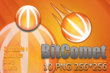 BitComet Icons by mat-u