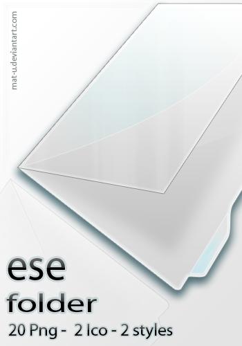 ese folder icon by mat-u