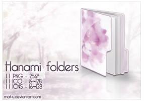Hanami Folders by mat-u