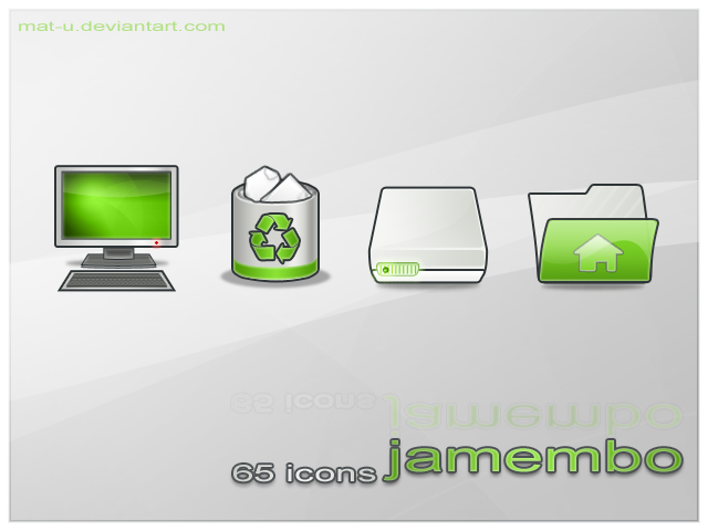 Jamembo icons by mat-u