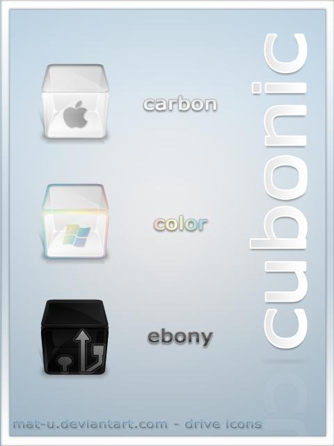 Cubonic icons by mat-u