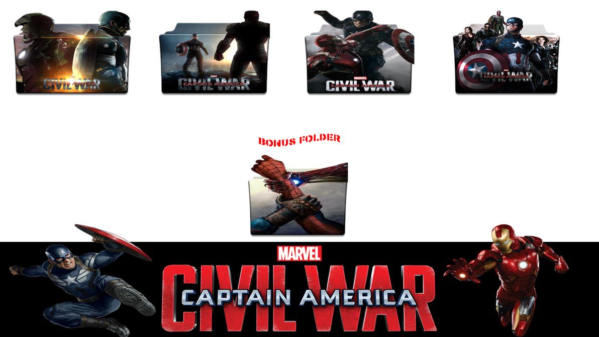 Captain America Collection V 2 Folder Icon By – Migliori Pagine da
