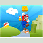 mY lOgon  - Super Mario by lovuhemant