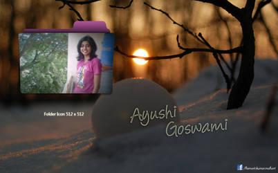 Ayushi Goswami by lovuhemant