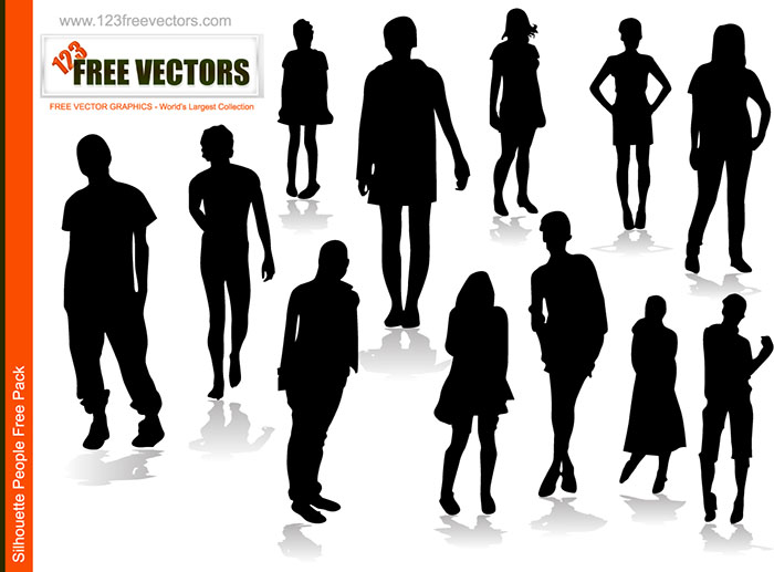 People Silhoutte Vector