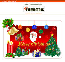 Christmas Special Vector Pack by 123freevectors
