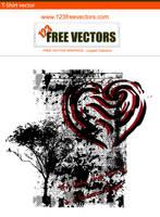 T-shirt Design Vector by 123freevectors
