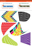 Warped Objects Vector Graphics