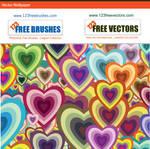 Vector Heart Wallpaper