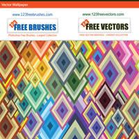 Vector Diamond Wallpaper by 123freevectors