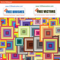 Vector Square Wallpaper by 123freevectors