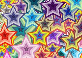 Vector Star Wallpaper by 123freevectors