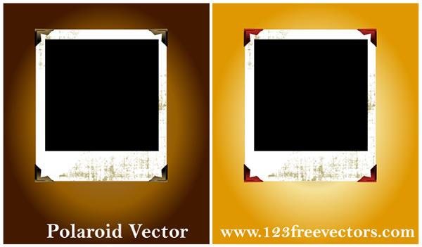 Polaroid Vector by 123freevectors