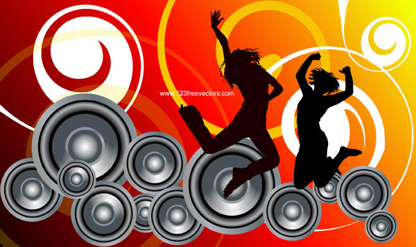 Music Background Vector by 123freevectors