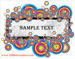 Colorful Text Banner Vector