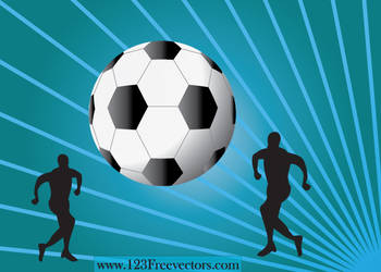 Football Wallpaper by 123freevectors
