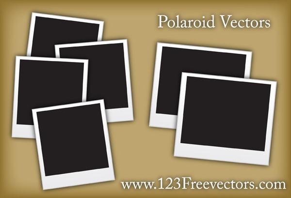 Polaroid Vectors by 123freevectors