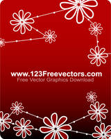 Vector Flower Background by 123freevectors