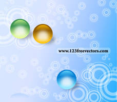 Abstract Circle Background by 123freevectors