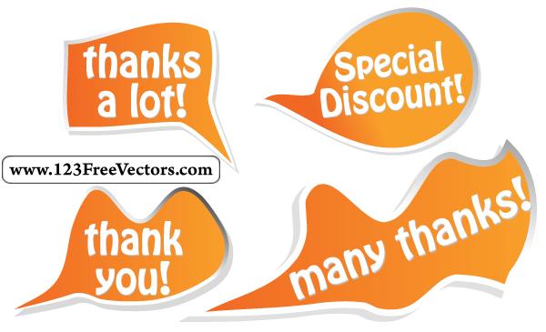 Talk Bubbles Vector by 123freevectors