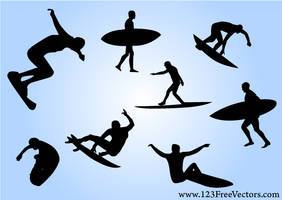 Free Surf Vectors by 123freevectors